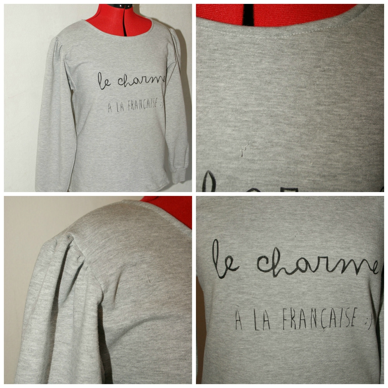 customiser un sweat XXL