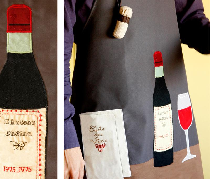 Tablier Vin Homme 2