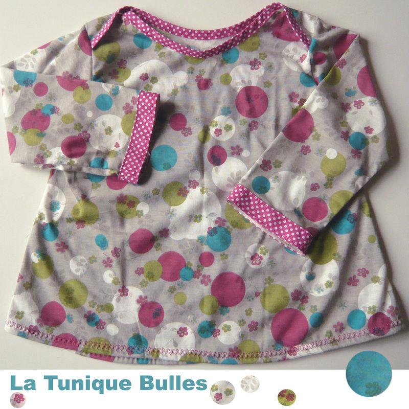 tunique bulles