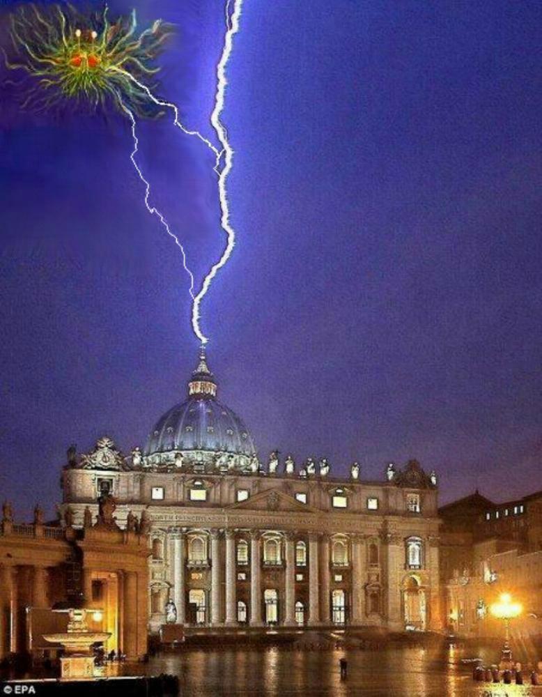 éclair vatican