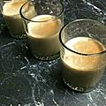 Panna cotta allégée au café au mo