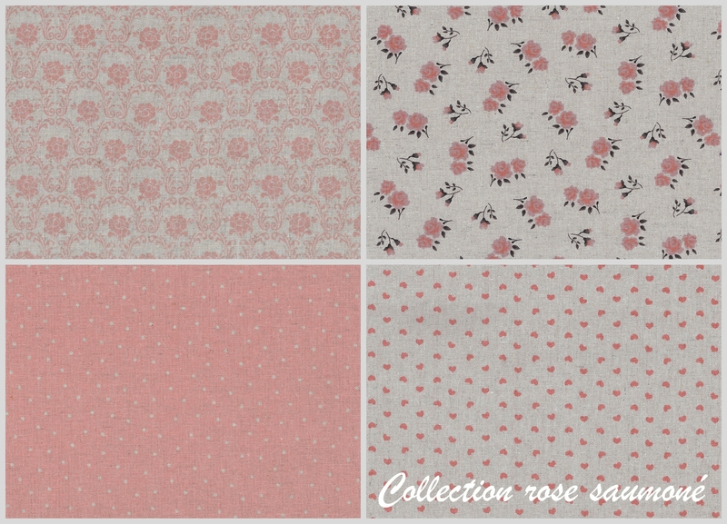 collection rose saumoné