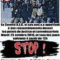 Rassemblement devant les palais de justice et les commissariats contre les violences policières