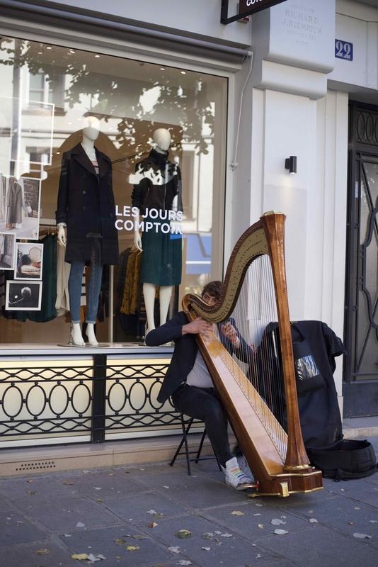 harpiste de rue - 1