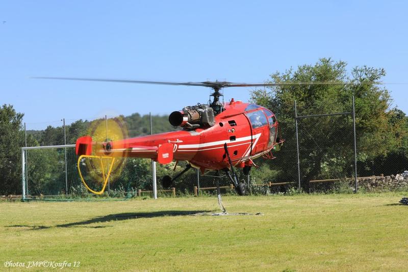 Photos JMP©Koufra 12 - Le Caylar Mouton Héliportage Alouette III - 20062018 - 729
