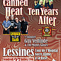 Tonic tuesday - canned heat, going up the country (a woodstock reunite ce vendredi 27 juillet à lessines!)