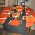 Table pour halloween 2007