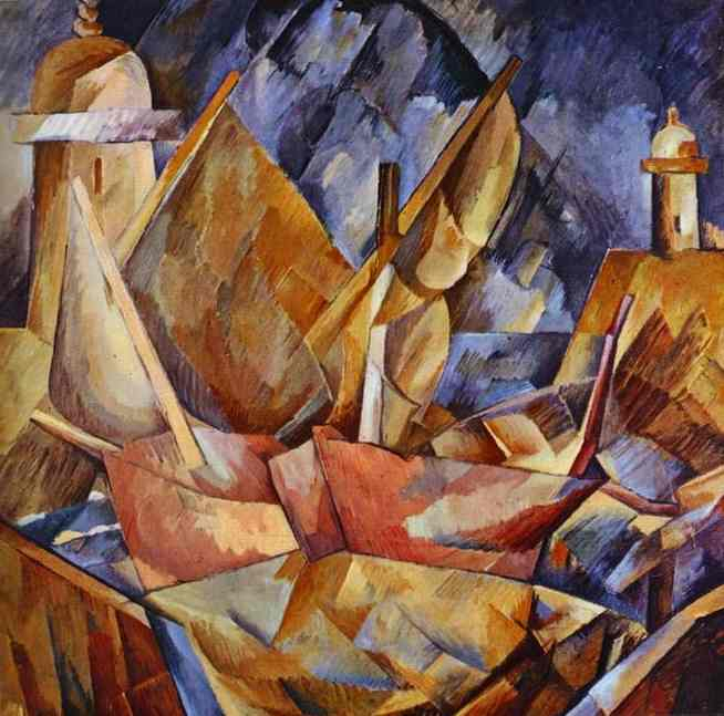 Georges-Braque-Harbor-in-Normandy