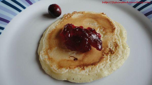 Confiture de cranberries au sirop d'érable (9)