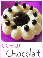 Biscuits presse coeur chocolat - index