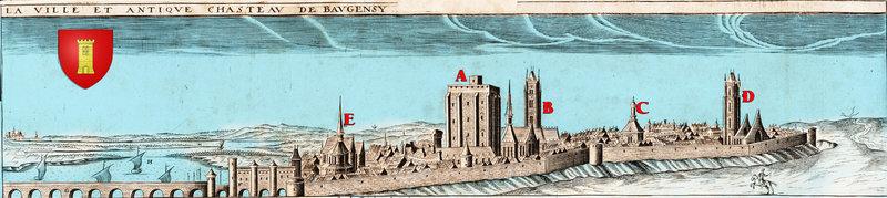 la ville antique de Beaugensy