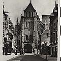 Saint-quentin, la basilique aisne carte postale 1947