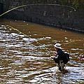 Pêche en eau trouble