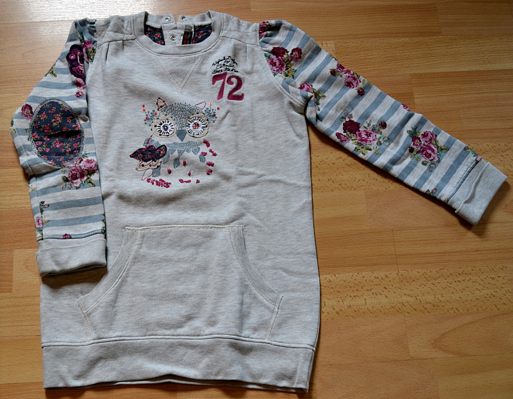 Taille Robe Pull Mesloupiotes Ans Catimini 8 Hibou Pt0Bt