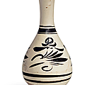 A_painted_Cizhou_pear_shaped_vase__yuhuchunping__Northern_Song_Jin_dynasty__960_1234_