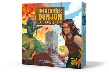 Boutique jeux de société - Pontivy - morbihan - ludis factory - Dernier donjon pour la route