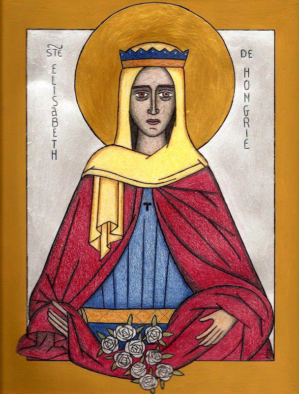 Sainte Elisabeth de Hongrie