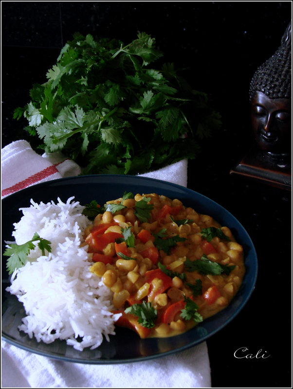 Curry de Haricots Blancs au Poivron 002