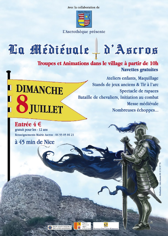 affiche medevial entrevaux