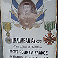 Chauveau joseph (rouvres les bois) + 01/06/1917 issoudun (36)