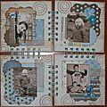Quatuor de canvas