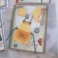 Un cahier de recettes scrappé