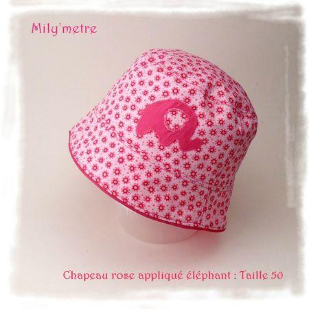 Chapeau éléphant T50
