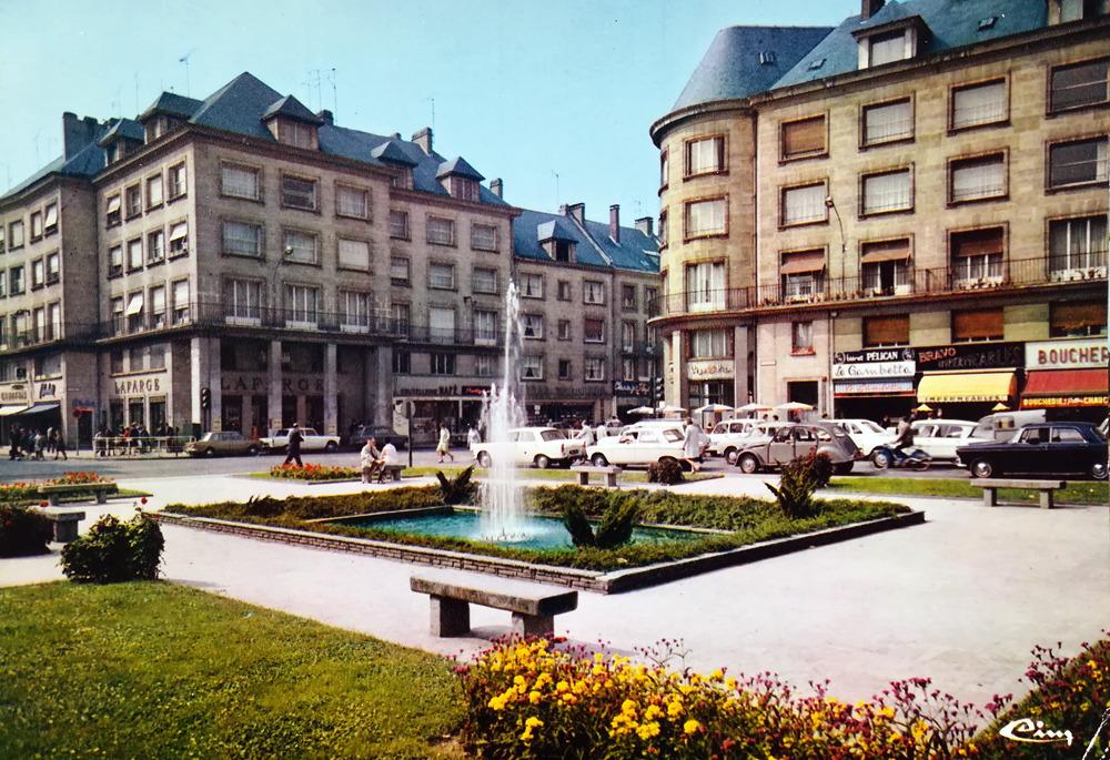 Amiens, la place Gambetta