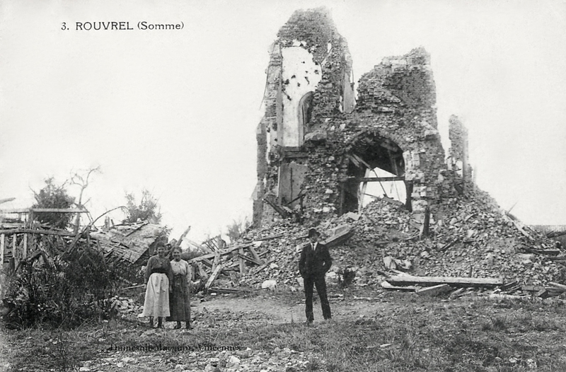 Rouvrel (Somme), ruines