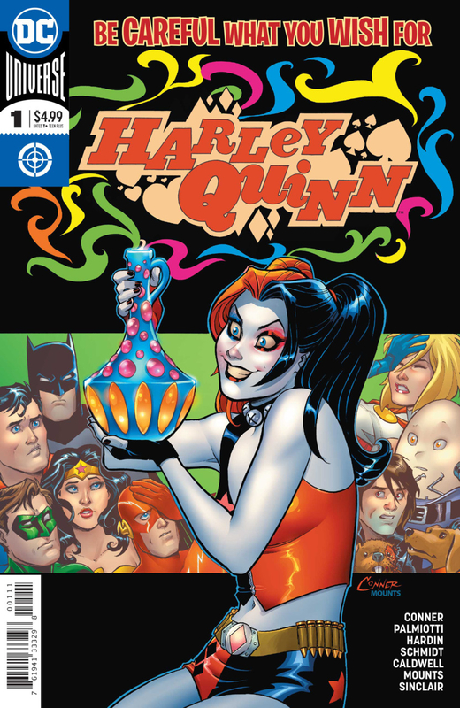 rebirth harley quinn be careful what you wish for