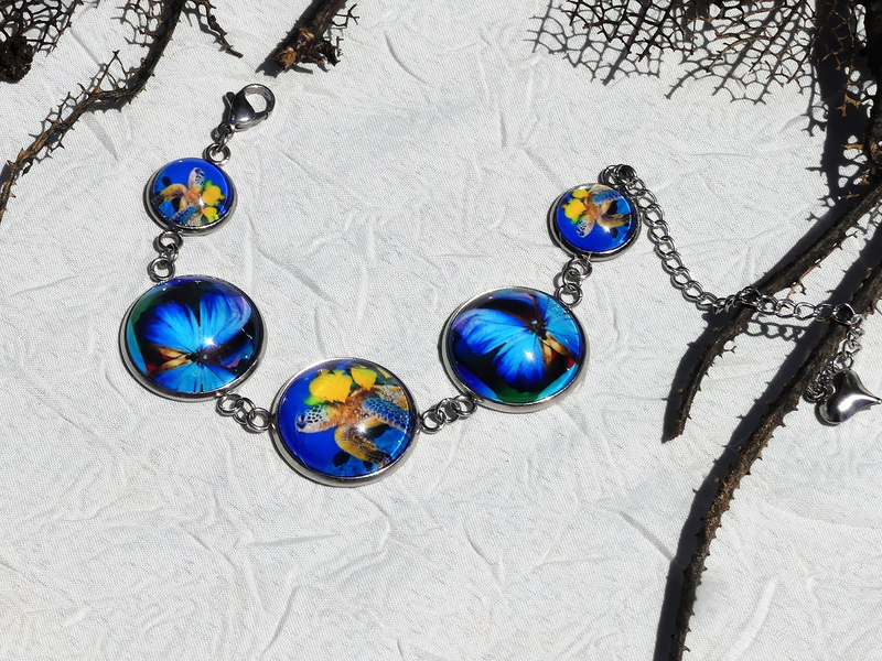 bijoux colores made in guyane par louise indigo tortue bleue (13)