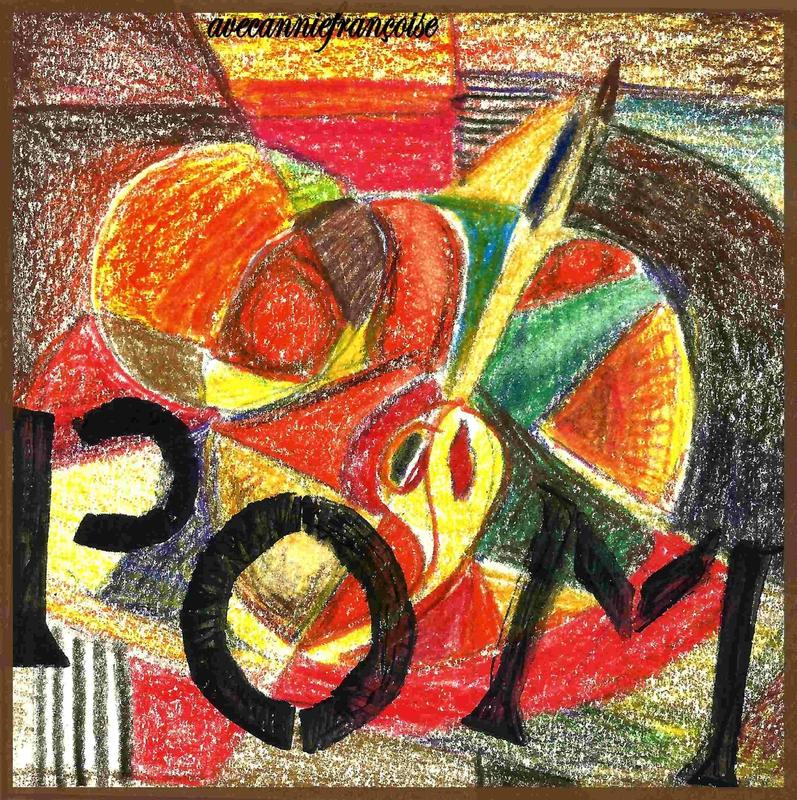 pomme cubiste