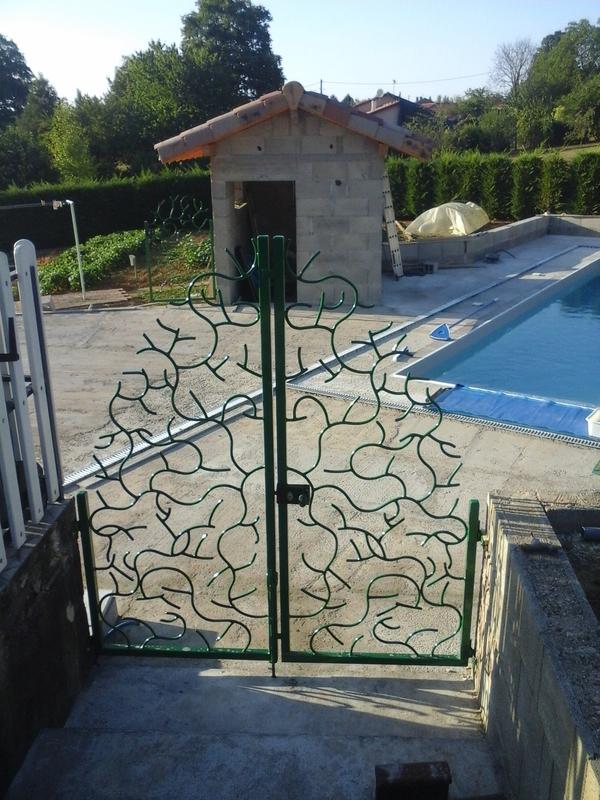portillons por accès piscine
