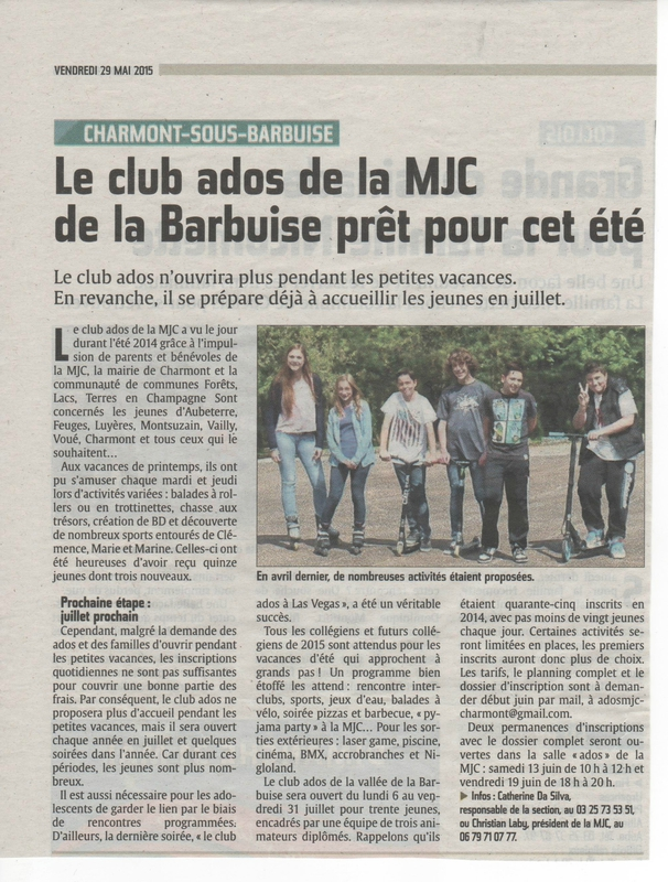 Presse - Club ADO 001