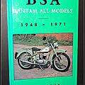 Bsa bantam all models, 1948-1971 - roy bacon