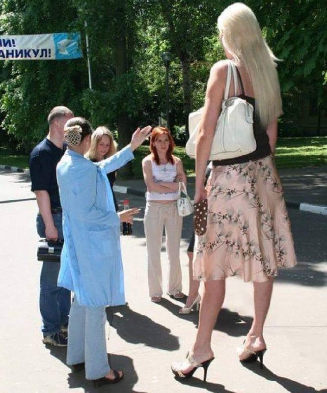 اطول بنت في العالم