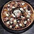 Tarte jambon, légumes du soleil et philadelphia
