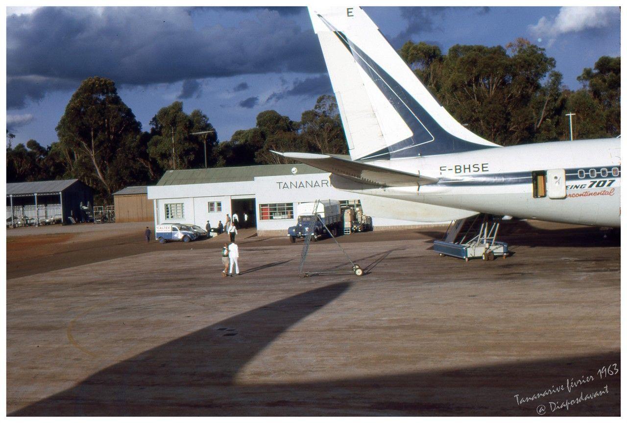 Tananarive aéroport 1963red