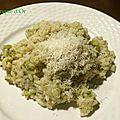 Risotto au brocoli et pecorino