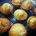 Recette : muffins au chocolat blanc