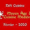 ...résultat du défi de février du thème : moyen âge et cuisine médiévale...