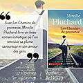 Les chemins de promesse - mireille pluchard - presses de la cite - collection terres de france.
