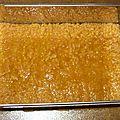 Bavarois pommes caramel au beurre salé