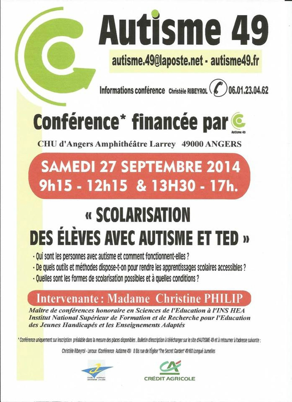 affiche autisme 49 christine philip 27 sept 2014