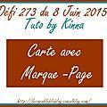 Le créablablablog : défi 273 du 8 juin 2015