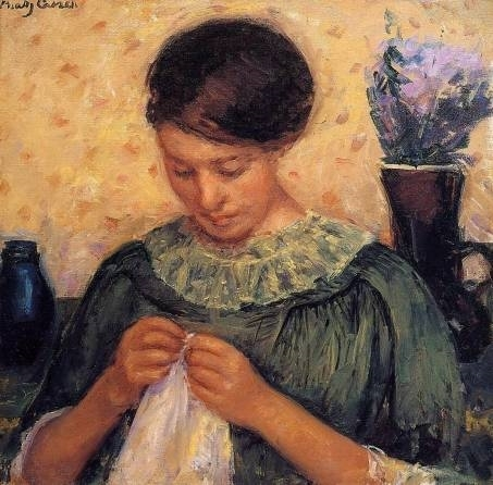 marycassatt_womansewing