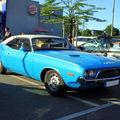 La dodge challenger 340 2door hardtop coupé de 1972 (rencard du burger king juin 2010)