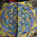Challenge artjournal et gribouillages # 84 : mandala