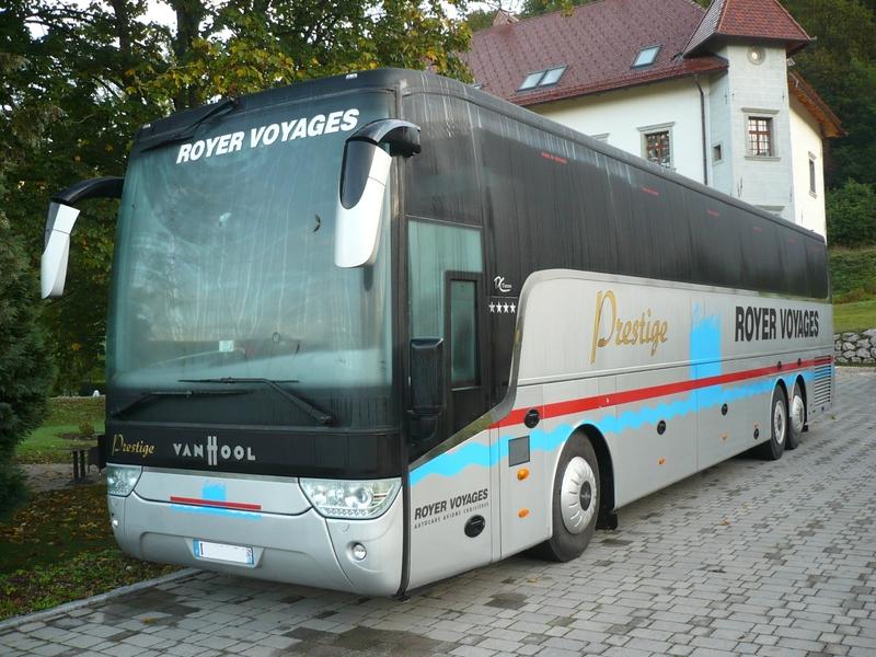 VAN HOOL TX 17 Acron Royer Voyages Begunje na Gorenjskem (1)