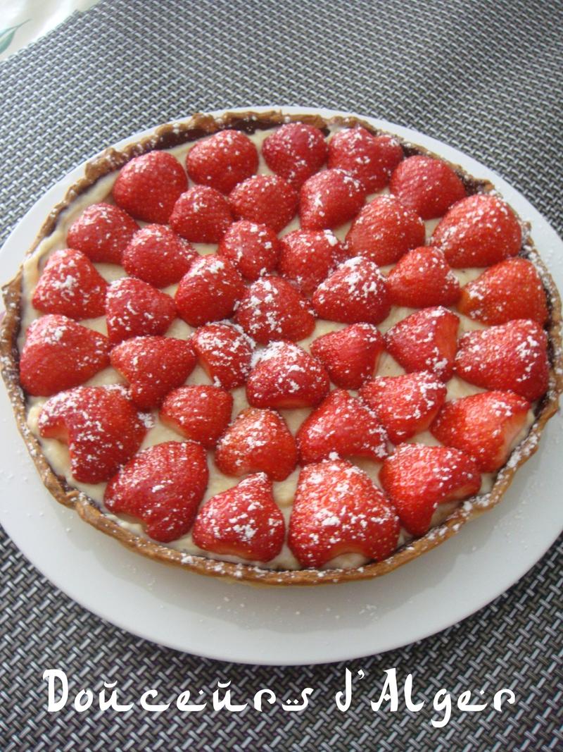 tarte aux fraises Piet Huysentruyt